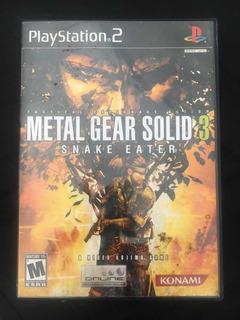 Metal Gear Solid 3 Ps2