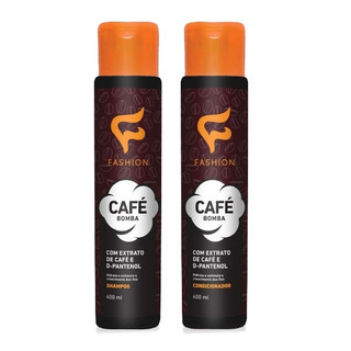 6 Kit De Shampoo E Condicionador Café Bomba Fashion Atacado