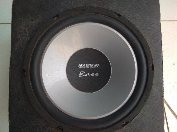 Subwoofer Magnum Bass 10 Polegadas 80w Rms 4 Ohms