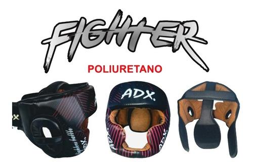 Imagen 1 de 1 de Careta Box Adx Pomulos Y Menton Modelo Fighter
