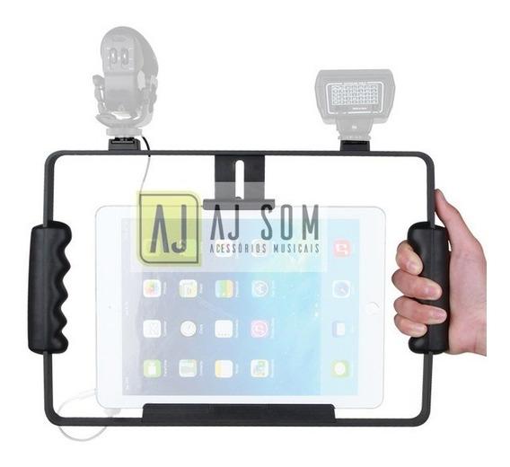 Suporte P/ Tablets iPad P/gravação,video,tele-prompter,tripé
