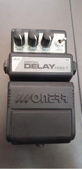 Pedal Delay Digital Onerr Dgd1 Com Caixa