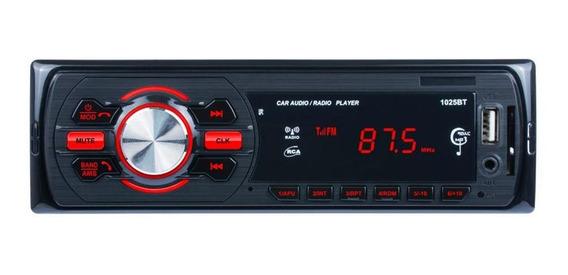 Carro Bluetooth Rádio Fm Mp3 Estéreo Em-traço Áudio Mp3