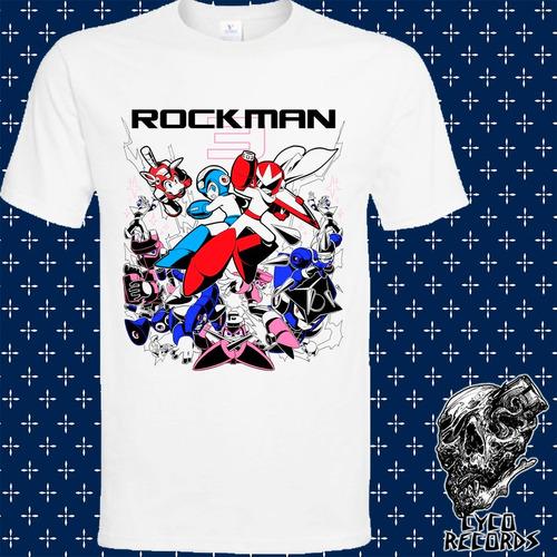 Imagen 1 de 3 de Megaman Rockman - Videojuegos - Polera- Cyco Records