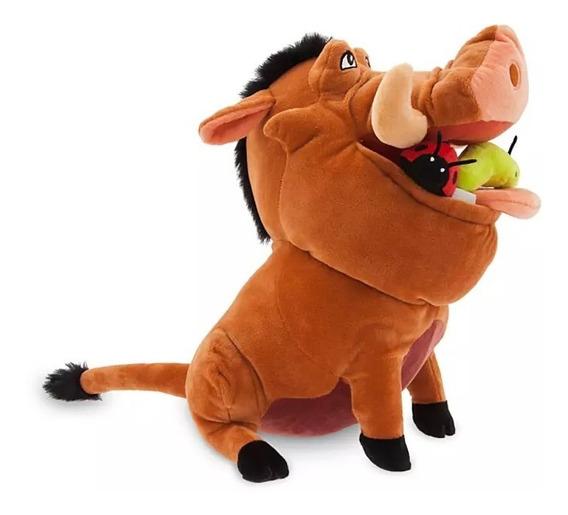 Pelucia Pumbaa 32cm Rei Leao Orignal Disney Store P/entrega