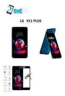 Lg K11 Plus + Vidrio 9h + Funda + Envio Gratis