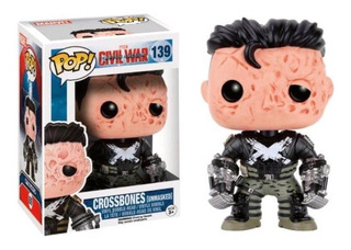 Funko Pop Crossbones #139 - Avengers Civil War - Exclusivo