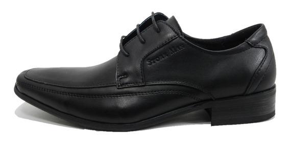 Zapatos Stork Man Derek Cordones Punta Cuadrada 2456