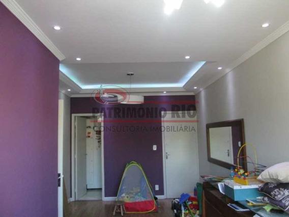 Lindo Apartamento Com Dois Quartos Na Vila Da Penha Com Garagem. - Paap23311