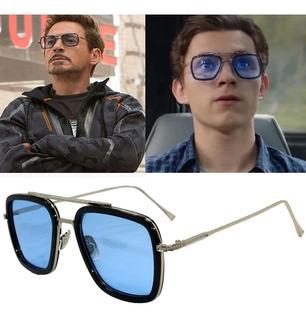 2019 Nueva Moda Vengadores Tony Stark Gafas De Sol Hombres M
