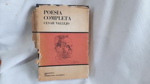 Imagen 1 de 9 de Poesia Completa Cesar Vallejo Arte Y Literatura La Habana