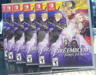 Fire Emblem Three Houses Nintendo Switch Nuevo Sellado Stock