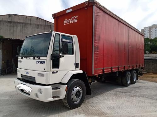 Imagem 1 de 15 de Ford Cargo 1722 2004 6x2 No Chassi