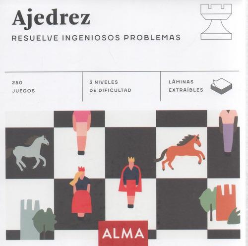 Libro: Ajedrez - Resuelve Ingeniosos Problemas