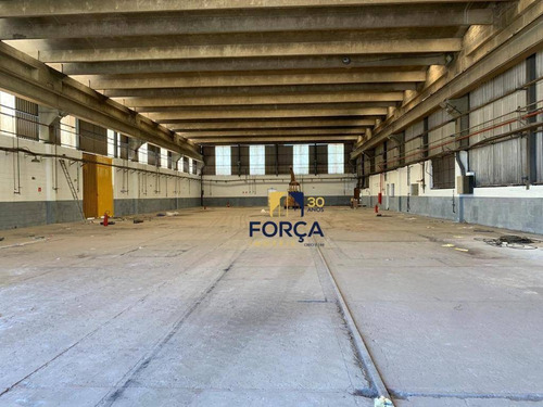 Galpão Para Alugar, A/c 1100 M² Com Pátio De 5.000 M², Guarulhos / Sp - Ga0853