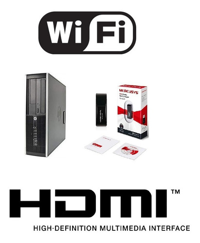 Cpuhp 6305 A4-5300b 3.4ghz 8gbmram 500gb Wifi Enviogratis