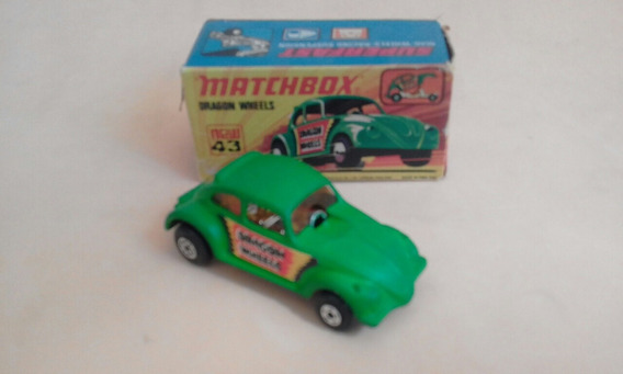 Matchbox Superfast Fusca 43 Dragon Wheels 1/64