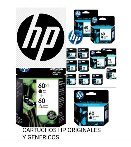 Cartuchos Hp 100% Nuevos 60 Negro Y Color