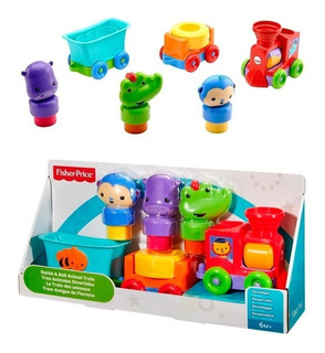 Fisher Price Tren Animales Divertidos Dmc44