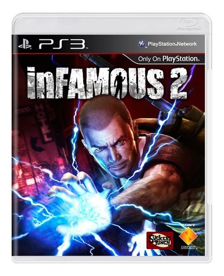 Game - Infamous 2 - Ps3