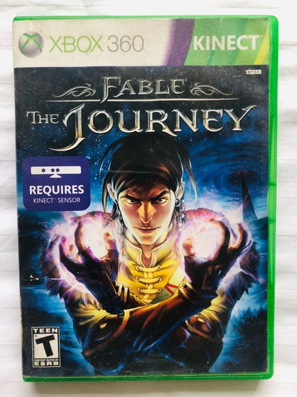 Jogo Fable The Journey- Xbox 360 - Mídia Física - Original
