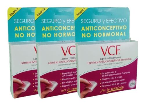Imagen 1 de 6 de Vcf Lamina Anticonceptiva