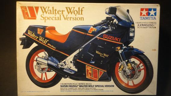 Llm - Moto - Suzuki Walter Wolf Rg250 Tamiya 14053 - 1/12