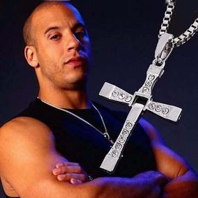 4 Corrente Cordão Pingente Cruz Crucifixo Velozes E Furiosos