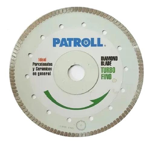 Disco Diamantado Aliafor Patroll Turbo Fino Trf 4.5 115 Mm