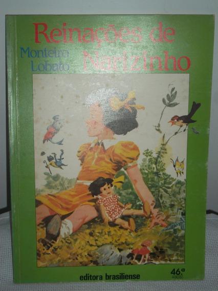 Livro - Infanto Juvenil - Reinações De Narizinho
