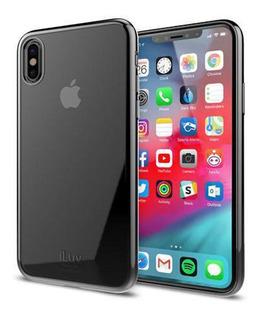 Capa Iluv Apple iPhone Xs Max Transparente Borda Metalica