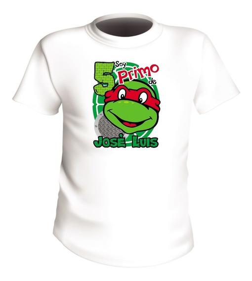 Playeras Personalizadas Infantiles Tortugas Ninjas