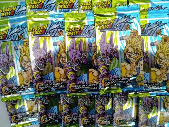 Cartas Dragon Ball Z Serie 5 (pack De 20 Sobres)