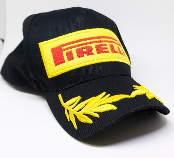 Boné Pirelli Formula 1 F1 Campeão Ayrton Senna Novo Lindo