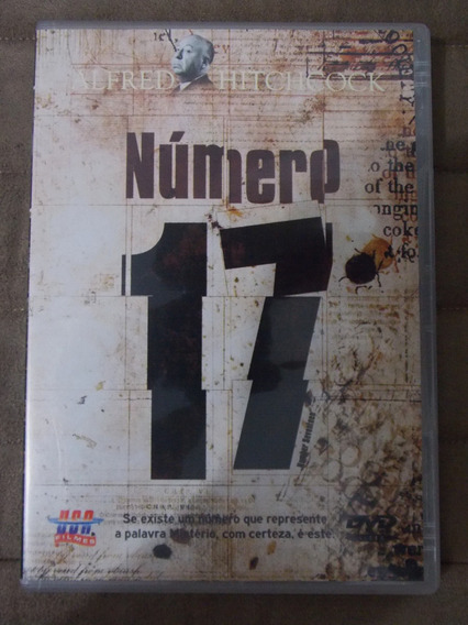 Dvd Número 17 De Alfred Hitchcock Frete De R$10,00