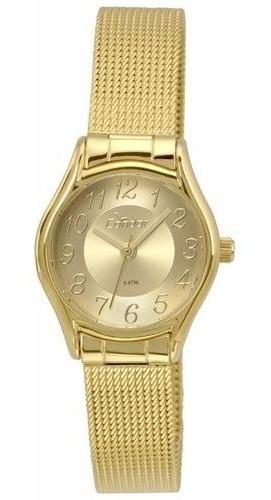 Relógio Condor Feminino Dourado Mesh - Co2035kro/4d