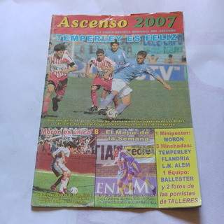 Revista Ascenso 2007 553 Temperley Moron