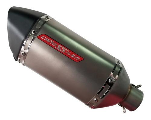 Silenciador  De Moto Universal Cañossilen Cs12