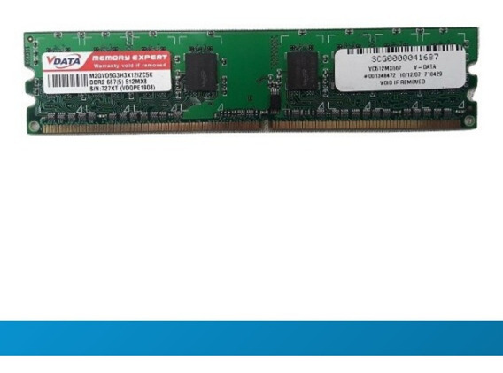 Memoria Ddr2 512mb Pc2-5300 667mhz 8 Chips 10
