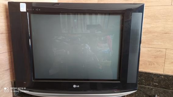 Tv Tela Plana Ultra Slim De 29 Polegadas Semi Nova Tubo