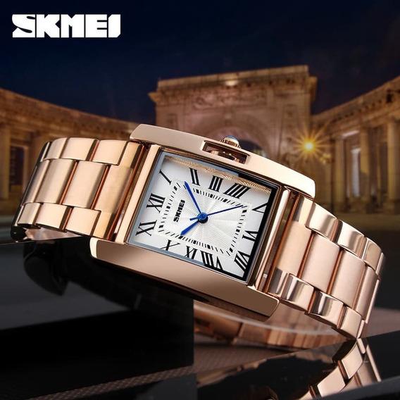 Relógio Feminino Skmei Original1284 Resistente A Água Barato