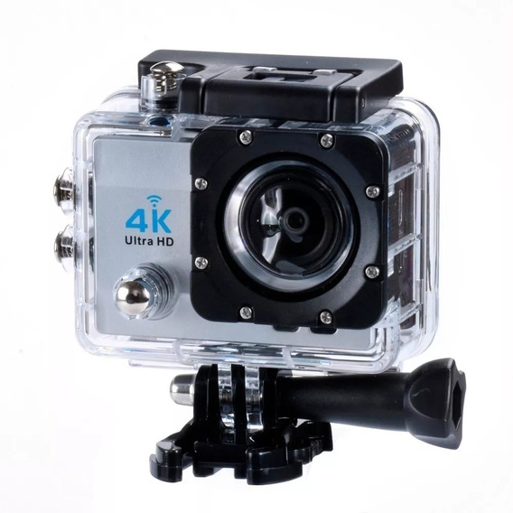 Câmera Gopro Ultra 4k Sport Wifi Hd Prova Dágua Moto Link Capacete Ação Envio Imediato