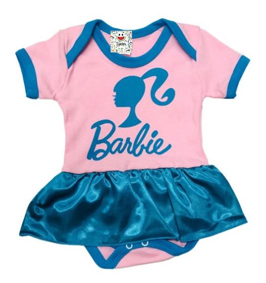 Roupa Para Bebê Menina Barbie Body Temático