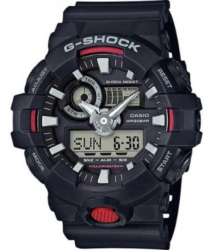Relógio Casio G-shock Ga-700-1adr - Garantia Da Casio + Nfe