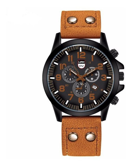 Relógio Masculino Luxo Esportivo Barato Liandu Soki Social