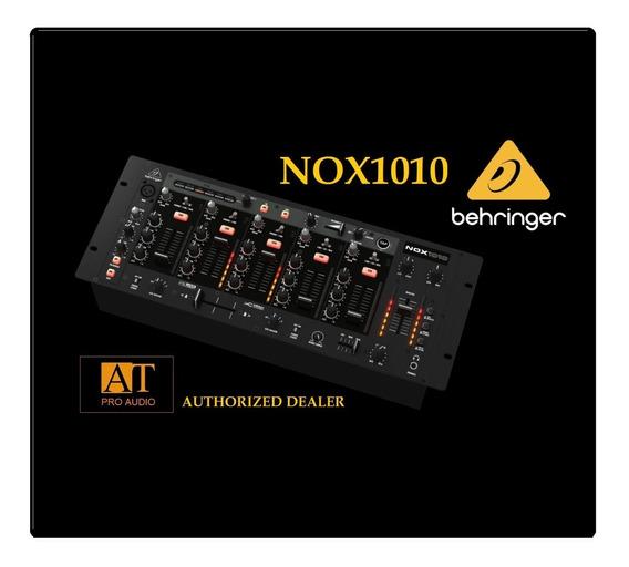 Pro Dj Mixer Behringer Nox1010 5 Canais Na Loja At Proaudio!