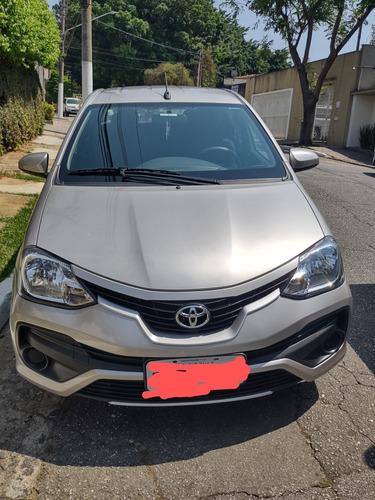 Imagem 1 de 11 de Toyota Etios 2018 1.5 16v X 4p
