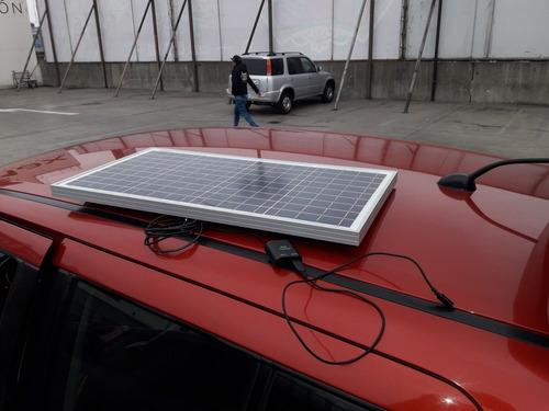 Panel Solar 30w  Con 2,3 O 4 Puertos Usb Cargador Celular