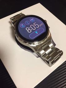 Relogio Fóssil Smartwatch Pulseira Aço Escovado Original