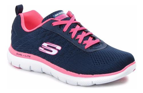 Zapatillas Skechers Flex Appeal 2.0 Break Free Mujer Memory